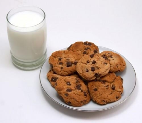 galletas con leche